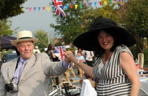Helena at Bouverie Avenue Street Party