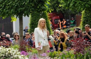 Gwyneth Paltrow at the RHS Chelsea Flower Show 2011