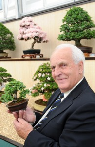 Reg Bolton from the Federation of British Bonsai Societies