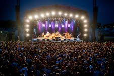 WOMAD stage and crowd