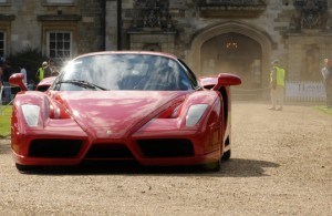 The Ferrari Enzo was loudest in show