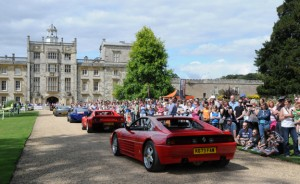 Supercar procession