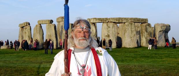 King Arthur Pendragon at Stonehenge