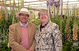 Terry and Mary Baker from The Botanic Nursery