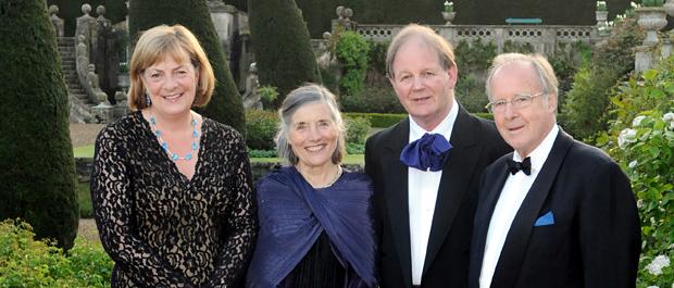Lady Lansdowne, Clare Morpurgo, Michael Morrpurgo and Lord Lansdowne