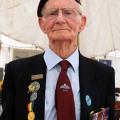 D-Day veteran Fred Glover