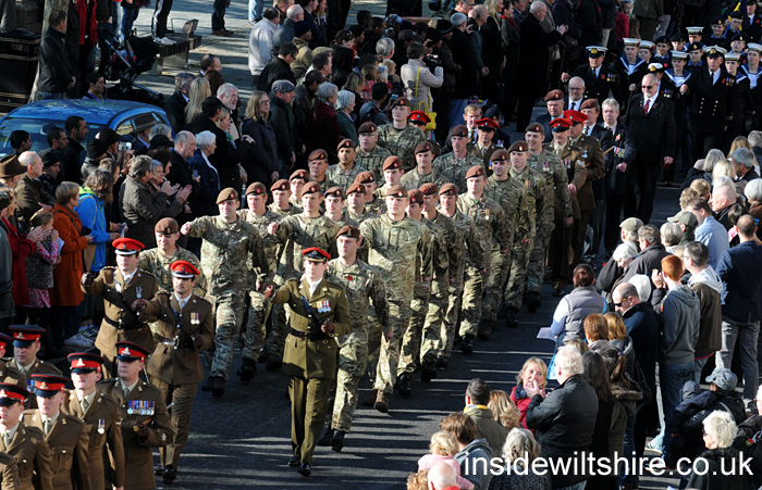 Salisbury cathedral remembrance service