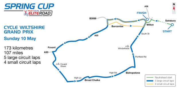 cycle wilts 2015 route