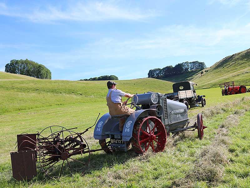 Historic Farming demonstration at Chalke Valley History Festival 2017