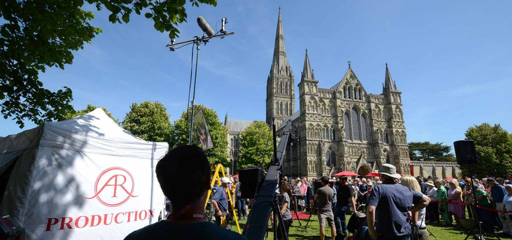 Antiques Roadshow at Salisbury Cathedral