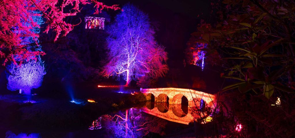 Stourhead Christmas illuminated trail
